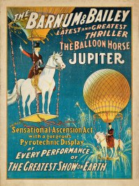 Balloon Horse | vintage goth