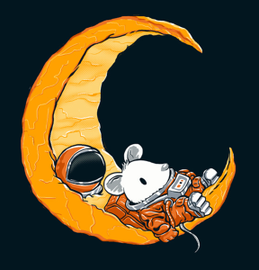 Astronaut Mouse