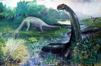 Brontosaurus | Charles R. Knight
