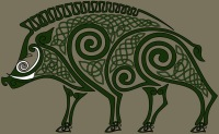 Celtic Pig of Óengus