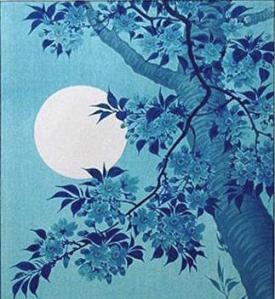 Cherry Moon | Ohara Koson