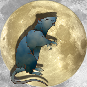 Lucky Moon Rat | China Rose