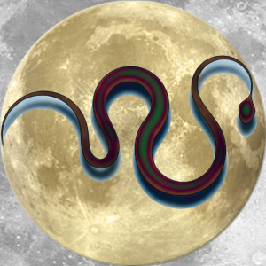 Lucky Moon Snake | China Rose