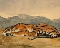 Tiger | Eugene Delacroix