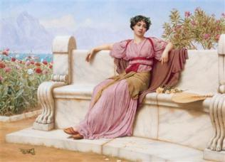 Tranquillity | John William Godward