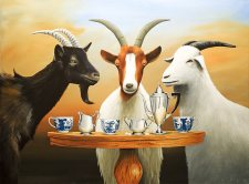 Goat Tea II | Robert Deyber