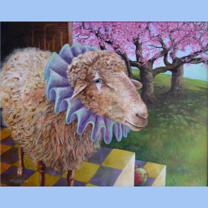 Harlequin Sheep | Wendy Vaughan