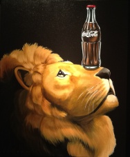 Lion of Coke | Robert Deyber