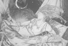 Mystic Moon Fairy | vintage