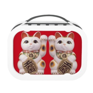 Good Fortune Cat | lunch box