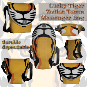 Lucky Tiger | messenger bag