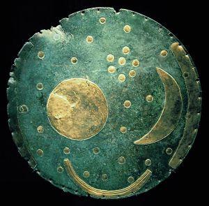 Nebra Scheibe | sky disk, circa 1600 BC