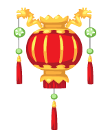 Golden Dragon | lantern