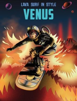 Lava Surfing Venus