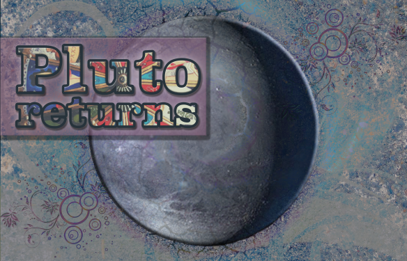 Pluto Returns 2015 | by China Rose