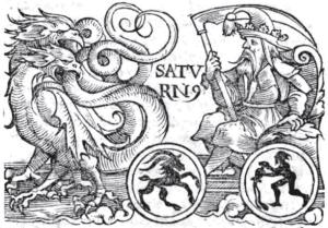 Saturn | Guido Bonatti circa 1550