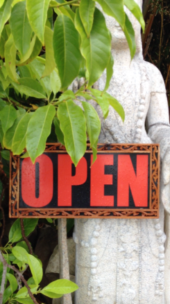 Open | Buddha by China Rose