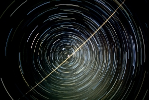 Circumpolar Star Trails