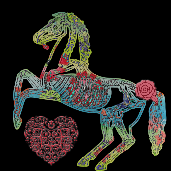 Horse Love   by China Rose