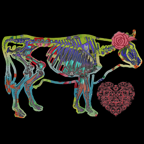 Cow Love   by China Rose
