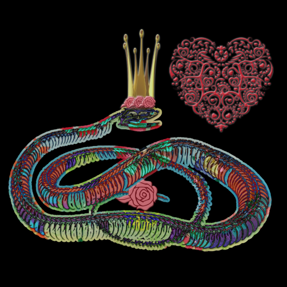 Snake Love   by China Rose