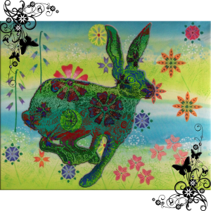 Hare Glow   by China Rose