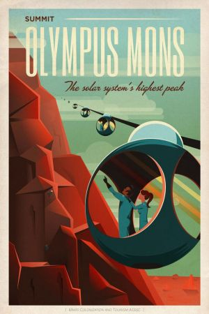SpaceX Mars Tourism   poster