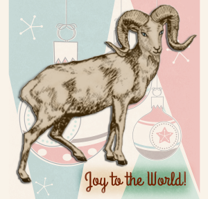 Holiday Goat | by China Rose