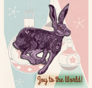 Holiday Hare | by China Rose