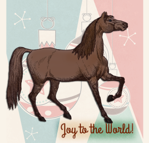 Holiday Horse | by China Rose