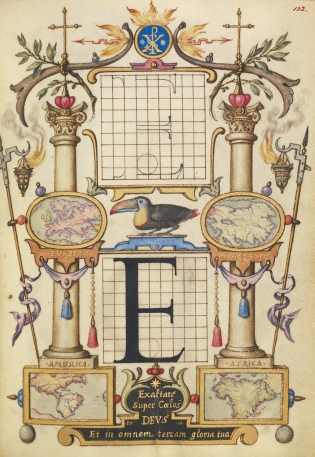 Hoefnagel's Guide to Constructing Letters