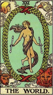 The World | Rider Waite tarot