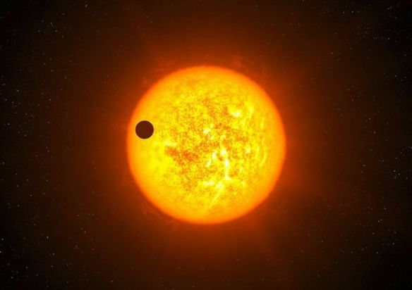 Mercury passes over Sun
