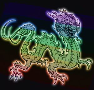 Rainbow Dragon | by china rose