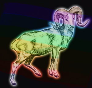 Rainbow Goat | by china rose