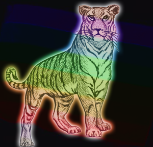Rainbow Tiger | by china rose