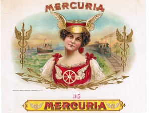 Mercuria | vintage logo